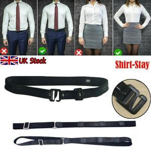 3pcs shirt suporte ajustável Perto camiseta A estada Melhor Tuck Ele Belt por Mulheres Homens Trabalho Entrevista