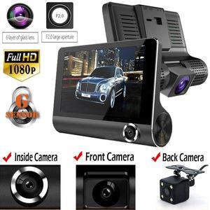 2019 оригинальный 4 '' автомобильный видеорегистратор камера видеорегистратор вид сзади авторегистратор ith две камеры видеорегистратор с двумя объективами