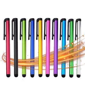 Evrensel Kapasitif Stylus Kalem Iphone 7 7plus 6 6S 5 5S dokunmatik kalem için Tablet Farklı Renkler İçin Cep Telefonu için