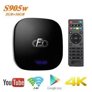 A95X F1 Android 8.1 TV Box Amlogic S905W Dört Çekirdek Dijital BOX Destek 4K WIFI, HDMI RJ45 Media Player Set Üstü Kutular