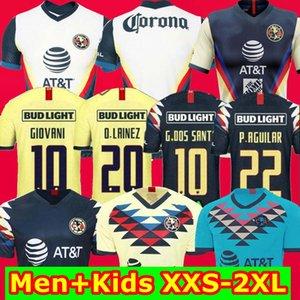 Top Thailandia 2020 2021 Club America Jersey Monterrey Jersey di calcio Guadalajara Chivas Tijuana UNAM Tigres Classic Maillot Camiseta de Futbol