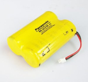 4pcs Original Panasonic BR-ACF2R 6V CNC PLC Li-ion bateria com baterias termoestabilidade plug FANUC CNC bateria do sistema