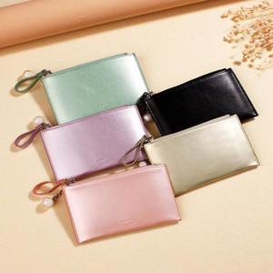 Designer-Femmes Laser Mini Porte-Monnaie Mode Porte-clés Lady Petit court portefeuille de cartes de crédit Porte-cuir sacs de pièces Slim mince Livraison gratuite