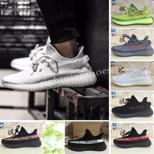 Butter Sesame 35 V2 Static casual shoes off Mens casual shoes Blue Tint triple White WoMens Designer shoes Zebre Bred Size36-45 TJ04