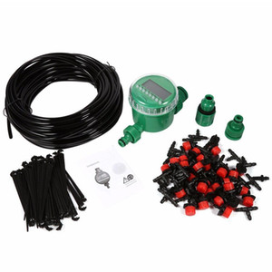 Automatic LCD Water Timer with 25M DIY Dripping Tools Set Garden Irrigator Smart Irrigation Controller Watering System Kits T200530