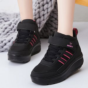 2019 Shoes Winter Warm Platform Woman Snow Boots Female Casual Sneakers Thickening Female Snowboots Warm Shoes #3