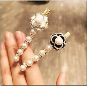 Mode perles imitation pince à cheveux pour femmes filles à la main Perle Fleur Barrette Couronne Hairpin Accessoires cheveux cadeaux de noce