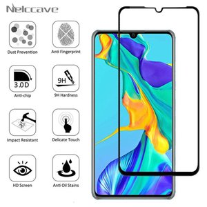 For Huawei P30 P20 Pro P10 plus P9 P8 Lite shielding film Complete 9h Tempered Glass screen protector