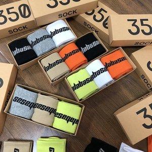 Season6 350 box socks Eur America 500 fashion brand 700 Kanye west v2 Calabasas sock Wear shoes as you like [order 5 pairs at least] faa973#