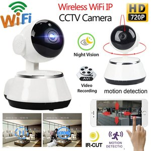 720P HD للرؤية الليلية كاميرا IP لاسلكية واي فاي كاميرا واي فاي الأمن الرئيسية مراقبة كاميرا مراقبة الطفل P2P CCTV كاميرات صغيرة