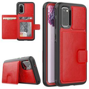 Роскошный магнитный кожаный бумажник PU слоты для карт гибридный Броневой чехол для iPhone 11 Pro XR XS MAX X 8 7 6 Samsung S9 S10 Plus S10E S20 Ultra Note 9
