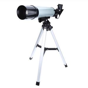 Monocular f36050 telescopio astronómico 360x50 telescopio refractor con el portable del trípode Exploración regalos de juguetes para adultos de los niños