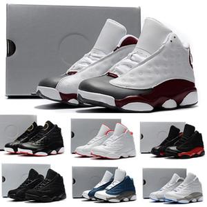 أحذية أطفال رخيصة Nike air jordan 13 retro  13 XIII كرة السلة 13S أسود أبيض أحمر أزرق بنين بنات أطفال الشباب أفضل مبيعات أحذية رياضية J13 للبيع