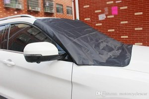 Winter Snow Block gelo del parasole del parabrezza protezione solare 210 * 120cm magnetico auto Mezza Cappuccio antipolvere protezione UV antipioggia parabrezza copertina