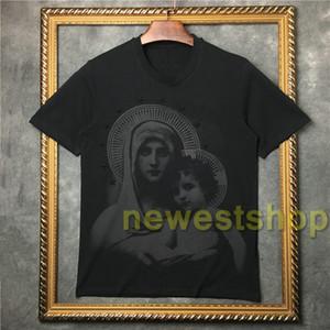 2020 été nouvelle mode étoiles bébé vierge impression T-shirt de haute qualité Hommes manches courtes T-shirts T-shirts Hauts Casual vêtements