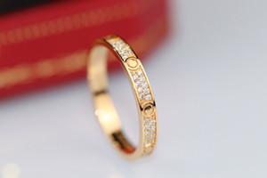 Con marchio e la scatola argento 925 anelli di diamante progettista originale per le donne cerimonia nuziale di aggancio regalo coppie gioielli di lusso amante
