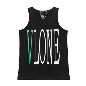 Vlone T Shirt Casual Stylist Short Sleeve Sleeveless T Shirt Trend High Quality Fashion Hip Hop Men Women T Shirts