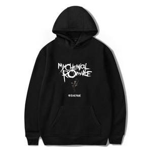 My Chemical Romance Толстовка Мужчины и женщины Black Parade Punk Emo Rock Толстовка Толстовка осень-зима пальто куртки Негабаритных одежды