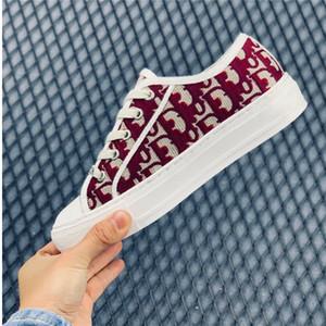 Dior b23 Shoes 2020new Donna Primavera e Autunno scarpe appartamenti casuali della tela di canapa di moda della scarpa da tennis del ricamo moda scarpe nuove 888