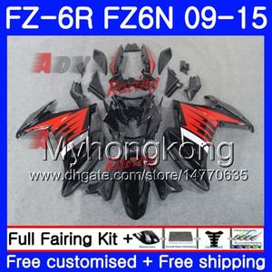 Carrozzeria per YAMAHA FZ6N FZ-6R 2009 2010 2011 2012 2013 2014 2015 239HM.42 FZ 6R FZ6 R FZ 6N FZ6R 09 10 11 12 13 14 15 Carene in vendita nero