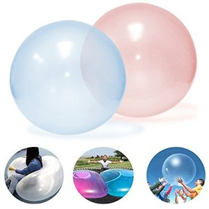 Kids magic bubble ball Balloon Outdoor Inflatable Ball Games Toys Soft Air Water Filled Bubble Ball Blow Up Balloon Toy