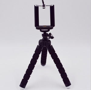 """تصميم جديد سطح المكتب المثبت ترايبود حامل للجوال gopro الكاميرا العالمي البسيطة ترايبود 75 """"دوران مع حامل الهاتف المحمول"""