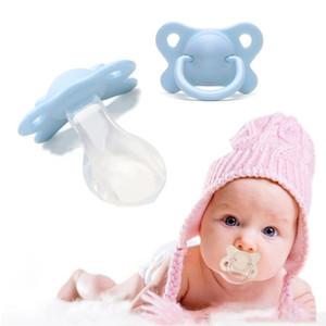 Bebê Silicone chupeta 2020 de Moda de Nova Adulto Chupeta Wide-furo em forma de borboleta Silicone bico do peito para adultos Supplies