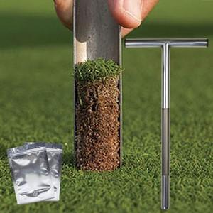 "Sand Sampler Probe 21 ""الفولاذ المقاوم للصدأ المحكمة T-Style Tubular Golf For Golf Accessories QFQIC"