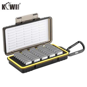 Camera Video Bags KIWI Memory Card Case Cards Box Can Store 40PCS SD Cards with High Capacity Includes 2 Sheets Of Notepaper 1 PCS Carabiner