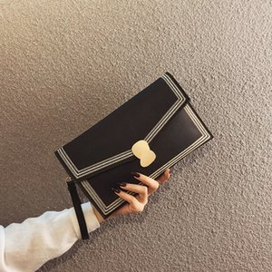 Clutch Ladies Bags Female 2020 New Fashion Wallet Simple Temperament Shoulder Bag