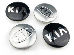 Kia Tekerlek Hub için 4 adet Centre Kapak 58mm ABS Jant Kapağı Logo Kapaklar Caps
