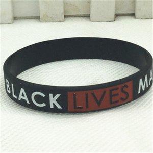 Lives noir Matter! Nouveau 9-10mm blanc perle d'eau douce baroque Bracelet Cultured 7,5 pouces # 64277