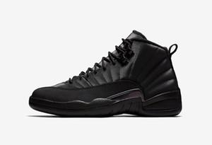12 s 2019 Yeni varış 12 Kutu ile siyah basketbol ayakkabıları Winterized WNTR erkek eğitmenler