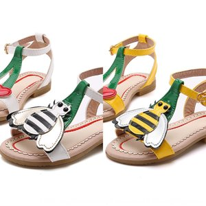 Little Bee girl 2020 anti-skid children sandals sweet flat princess Sandals children's shoes children's shoes fashion