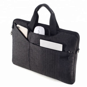 designer luxury handbags for laptop macbook 15 15.6 inch waterproof nylon multifunctional SBS zipper Shoulder bag for 12 13 14 inch