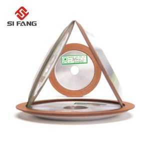 100 mm 150 Grit Diamond Grinding Wheel Para fresa del carburo