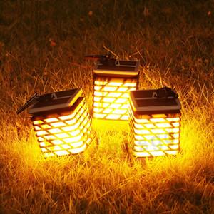 Açık Bahçe Çim Işık Koridor Lambası Plastik LED lambalar Alev Aydınlatma DBC BH2752 Asma LED Su geçirmez Güneş Lambası Güneş Enerjili Işıklar