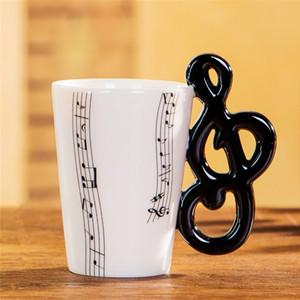 Guitarra cerámica de la taza de café té con leche Música Tazas con asa de la taza de café Regalos para guitarristas Músicos