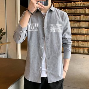 Tshirts Mens Stand Collar Designer Fashion Print Clothing Males Casual Handsome Tshirts Loose Long Sleeve Mens