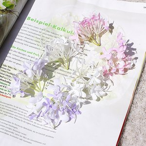 3 شوكة المحاكاة Little Flower أغطية الرأس إكسسوارات الملابس الكوبية الزهور أزياء الساخن بيع مع اللون الأرجواني الأبيض 0 68HZ J1