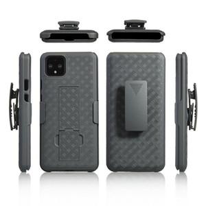 per Samsung Galaxy S20 Ultra S10 Inoltre S10e Nota 9 10 A51 A71 A81 A91 Corpo robusto Defender copertura Kickstand Belt armi della clip