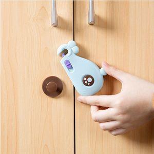 Kinder-Sicherheitsschloss-Kind-Baby-Kabinett Türschloss Kühlschrank Schubladenschrank Fang Clips Sicherheitsschloss