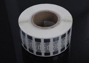 500pcs AZ-9662 UHF RFID LABEL PET Matériel EPC Global Class1 Gen2 ISO 18000-6C H3 Dry / Wet Inlay Label Intelligent pour Retail Warehouse Management