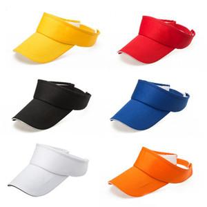 Verão Outdoor Sports Beathable longo Brim Esvaziar Top Baseball Sun Cap Hat Visor Caps Snapback bonés Osso