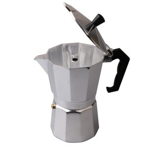 Moka Espresso Kahve Makinesi Makinesi 6style% 100 yeni marka / glantop Alüminyum İtalyan Soba Üst // percolator Pot Aracı