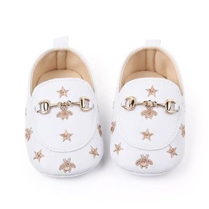 Baby Casual Shoes Star Boy Shoes Newborn Baby Casual Toddler Girls Loafers Cotton Soft Bottom infant4V7r#