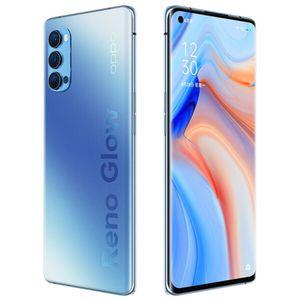 """Originale Oppo Reno 4 Pro 5G del telefono mobile 12GB di RAM 256GB ROM Snapdragon 765G Octa core Android 6.5"""" Cell Phone 48MP NFC Fingerprint ID intelligente"""