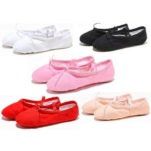Ushine EU22-45 yoga pantofole testa panno insegnante di fitness sport indoor di tela di ballo di balletto pattini dei bambini delle ragazze dei capretti le donne