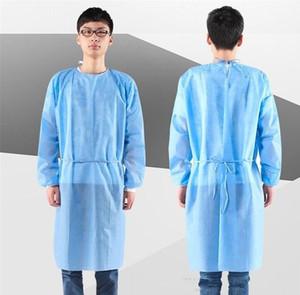 DHL Nave Abbigliamento isolamento impermeabile Hazmat Suit Cuff Frenulum Protective Clothing Antistaic monouso abiti vestito protettivo Prodotti