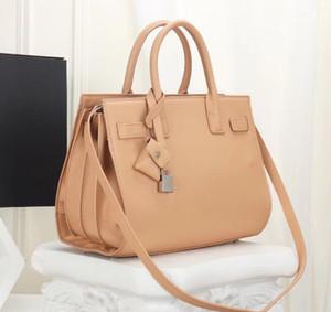 Donne Retro Borsa Organo classico di lusso Vera Pelle spallacci Designer Handbag Borse Messenger Crossbody Borse con chiusura a chiave 2019